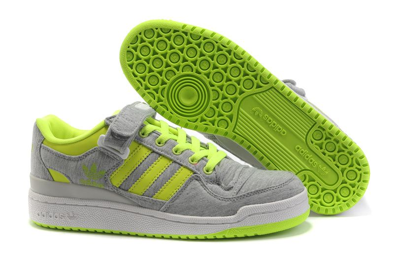 sports shoes 71c04 73e21 Adidas Forum Lo RS Grey Green Shoes