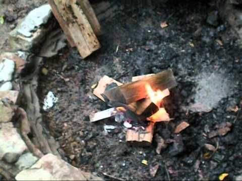 Survival Tip How To Start A Fire With Wet Wood Survival
