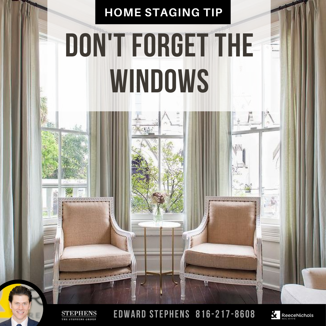 Your windows deserve a makeover too. Install anything from ripple-fold curtains to wood blinds depending on your style. #TheStephensGroup #Realtor #EdwardStephens #Sold #NewHome #Home #HomeForSale #RingTheBell #NewListing #Broker #HouseHunting #MillionDollarListing #HomesForSale #ForSale #KansasCity #KCMO #Instakc #igkansascity #igkc #luxury #chiefs #Kansas #Missouri #ChiefsKingdom #MadeInKC #ChiefsNation #ReppinKC #KCRoyals #Houses #HousesofInstagram #RealEstate #Renovated #KC #KCRealtor