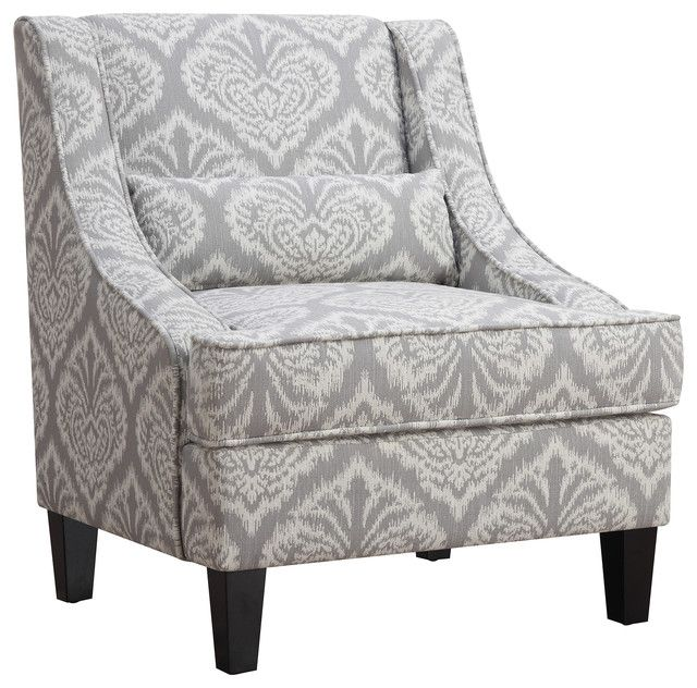 Accent Chairs Gray Pattern Most Expensive Massage Chair In The World Patterned Table And Pinterest