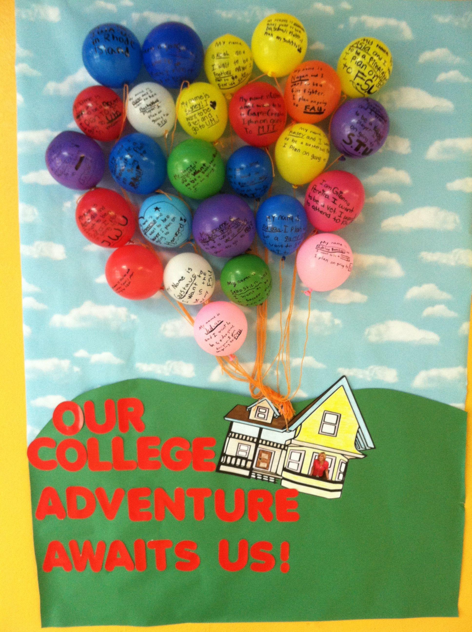 Up Movie College Adventure Classroom Door Picture Of The
