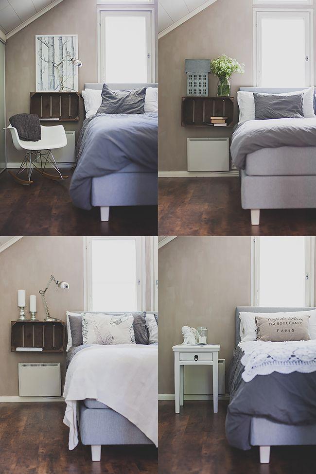 Makuuhuoneen monta ilmettä