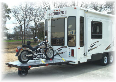 The The Ultimate Motorcycle Transport System For Use With Your Fifth