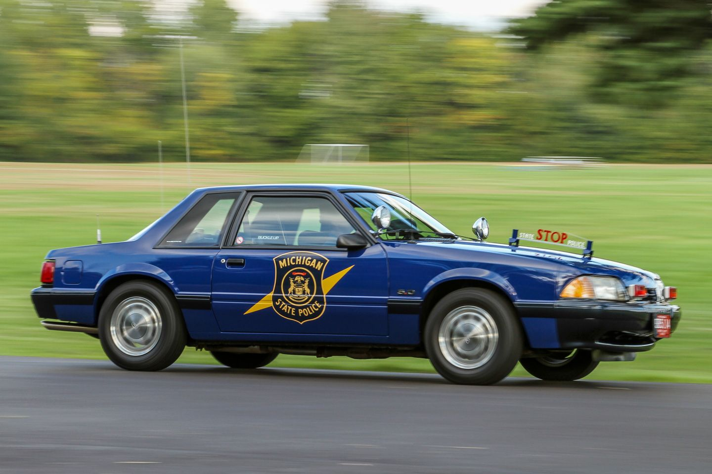 michigan state police 1992 ford mustang police cars mustang ford police police. Black Bedroom Furniture Sets. Home Design Ideas