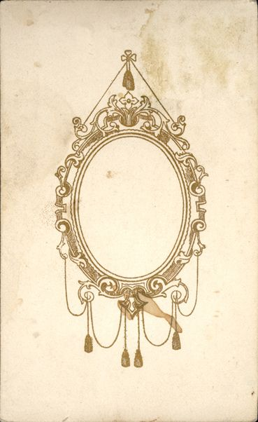 oval filigree frame tattoo