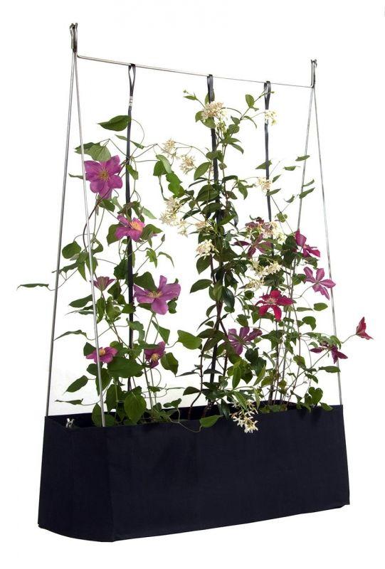 pflanztasche mit rankhilfe garten m bel f r beete. Black Bedroom Furniture Sets. Home Design Ideas