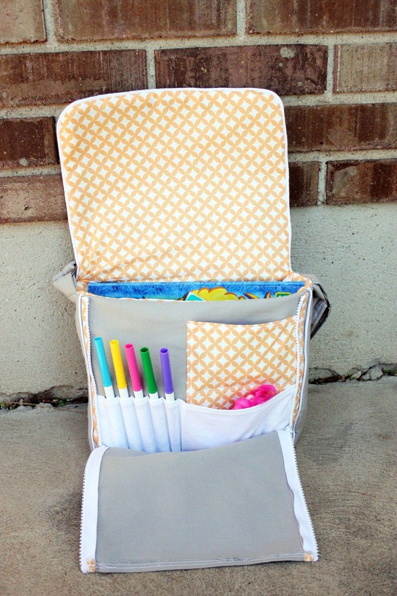 Free Sewing Tutorial - How to Sew a Toddler Messenger Bag