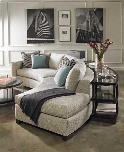 Circular Couches Living Room Furniture Color Schemes Beige Couch Check Out These 16 Exquisite Examples How Elegant Curved Sofa Can Look In The And Think Of Changing Your