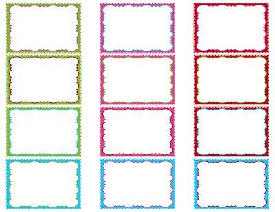 """12 combos de couleurs différents pour cette planche d""""étiquettes : étiquettes pour vos cadeaux de Noël ou à placer sur vos créas, c'est vous qui voyez... une idée intéressante : elles peuvent également être téléchargées individuellement, pour que vous puissiez composer votre propre planche en choisissant couleurs, taille et nombre, dans un format qui permet vraiment de modifier la taille !"""