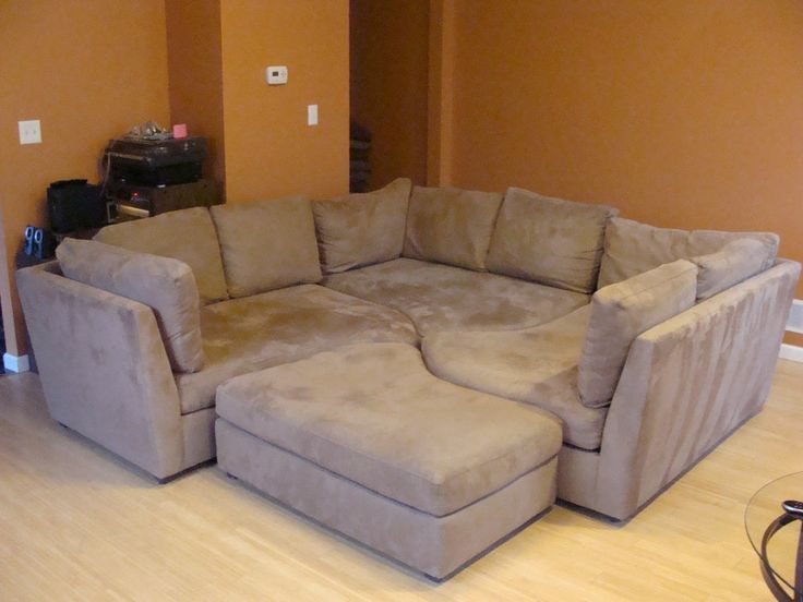 sectional ottoman day bed - Google Search : sectional with chaise and ottoman - Sectionals, Sofas & Couches