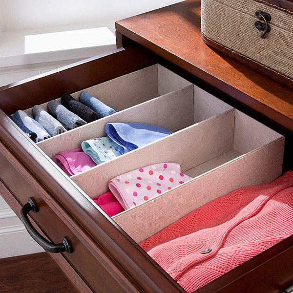 Improvements 3 Compartment Drawer Organizer 18 Liked On Polyvore Featuring Home