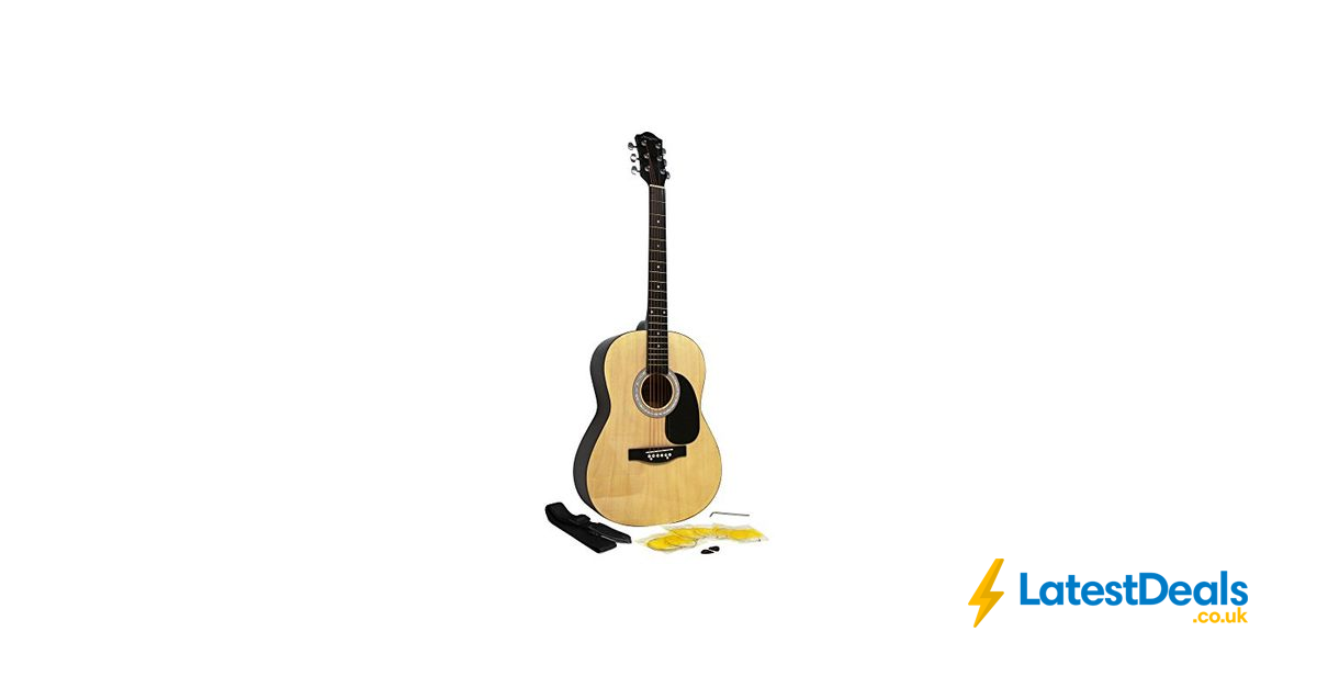 Martin Smith W 100 Acoustic Guitar Package With Strings Plecs Strap Natural 39 99 At Amazon Acoustic Guitar Guitar Acoustic