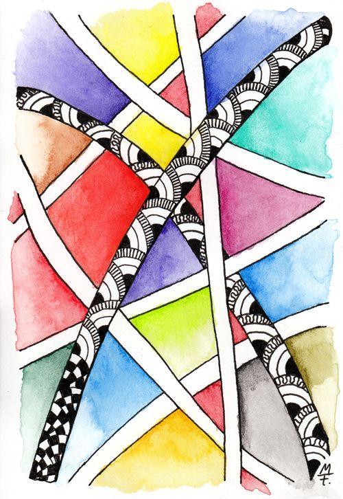 Farbe - Farbe - Farbe - Test der Inktense Stifte
