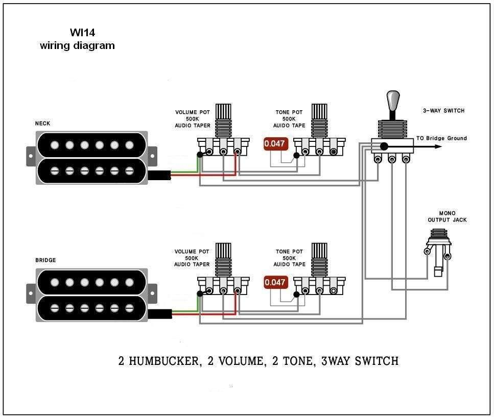 Wiring Diagram Guitar  With Images