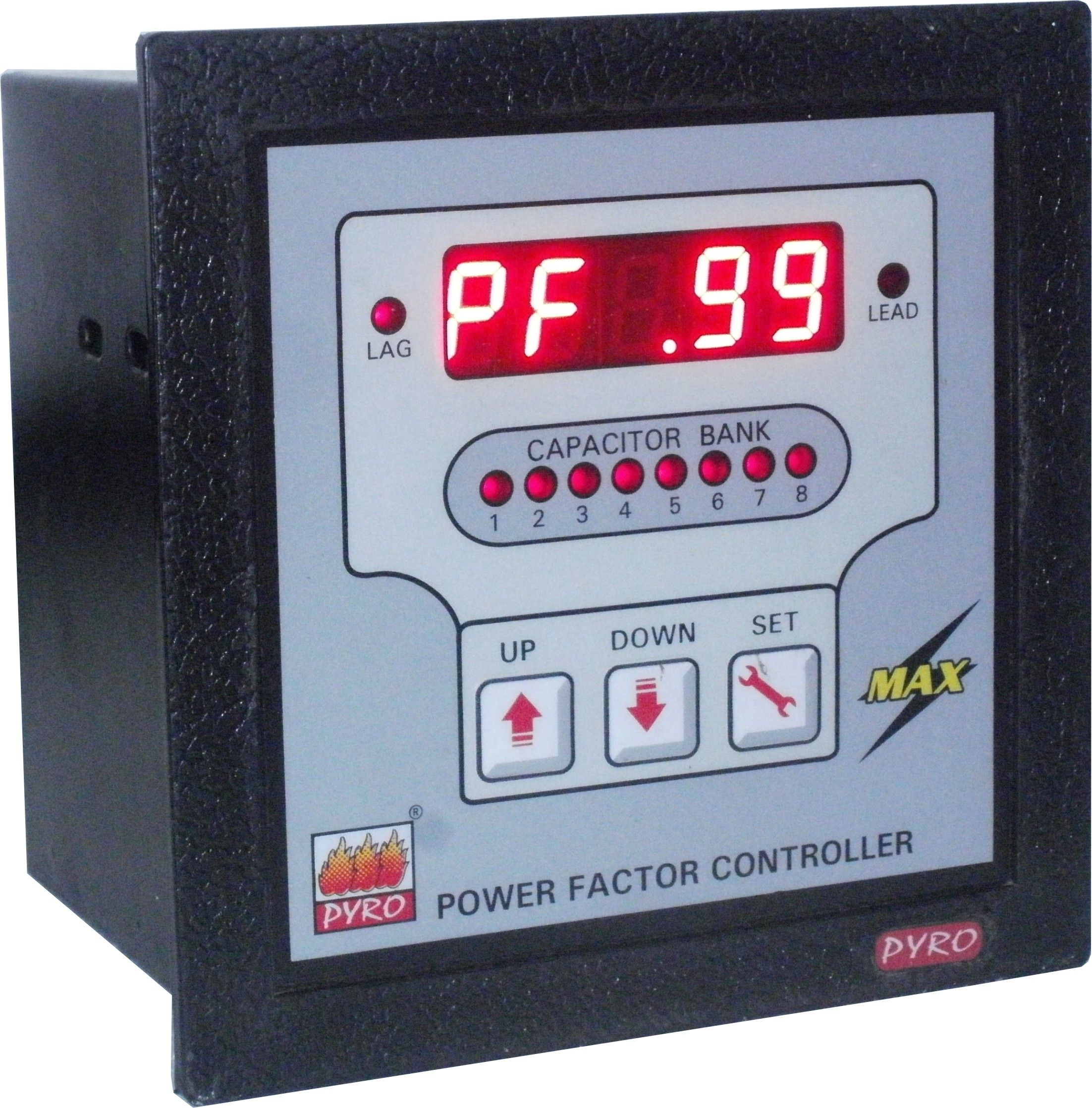 Automatic Power Factor Controller Max Power Electrical Energy Save Energy