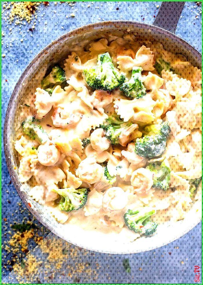 Skinny Garlic Shrimp 038 Broccoli Alfredo Skinny Garlic Shrimp 038 Broccoli Alfredo BarbaraSellsFlo
