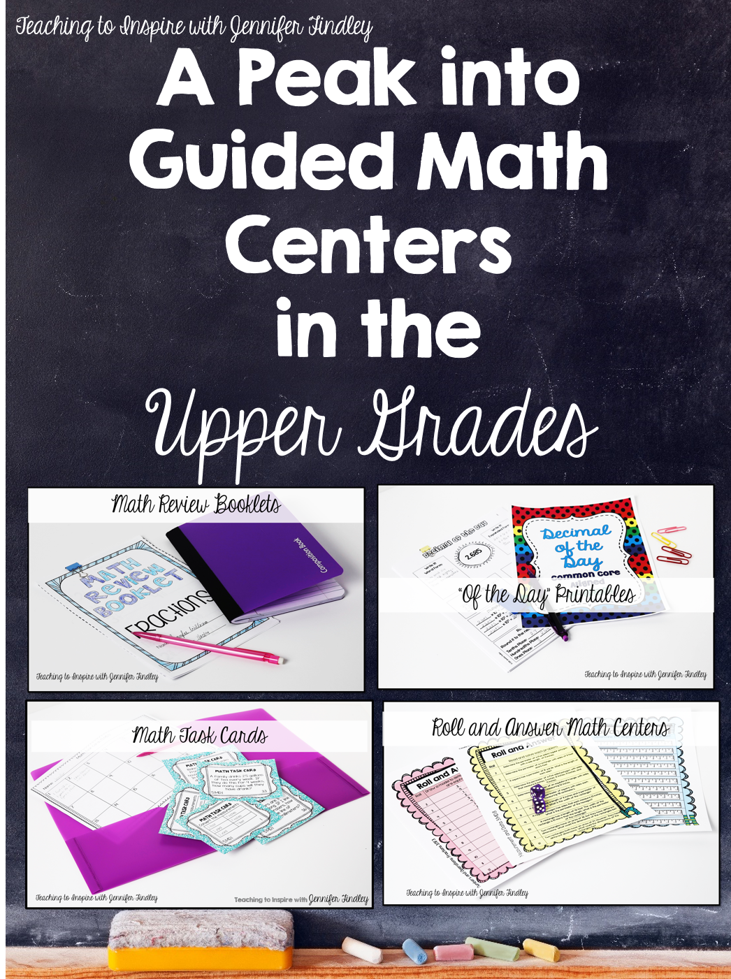Guided Math In Upper Elementary Free Math Centers
