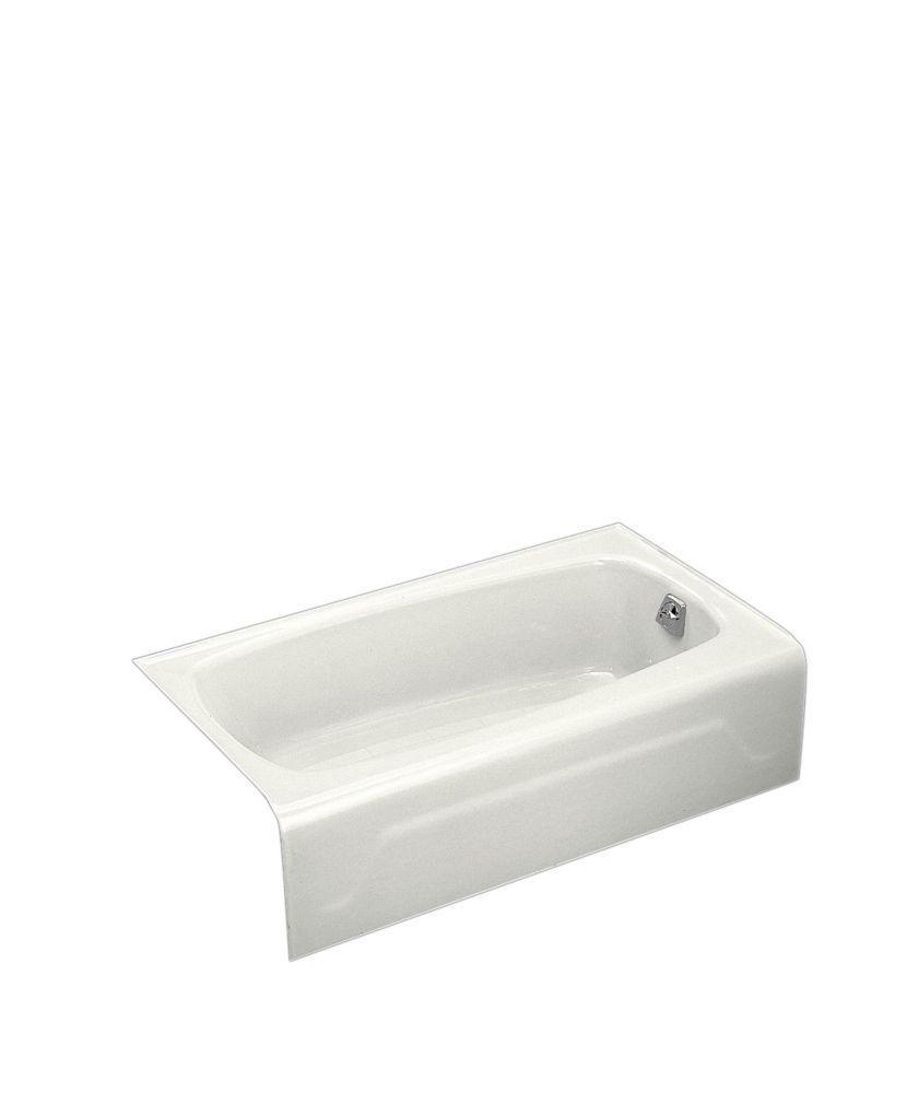 Beau Seaforth 4 Feet 6 Inch Cast Iron Drop In Non Whirlpool Bathtub In White