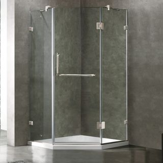 Neo Angle Shower Kits Overstock Shopping The Best Prices Online Shower Enclosure Neo Angle Shower Glass Shower Enclosures