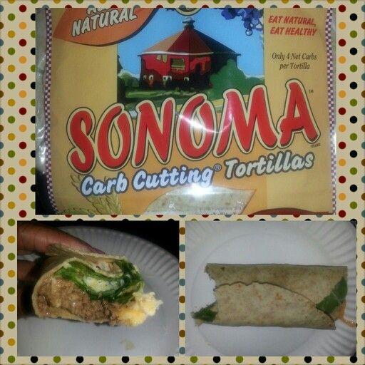 Low carb taco wraps