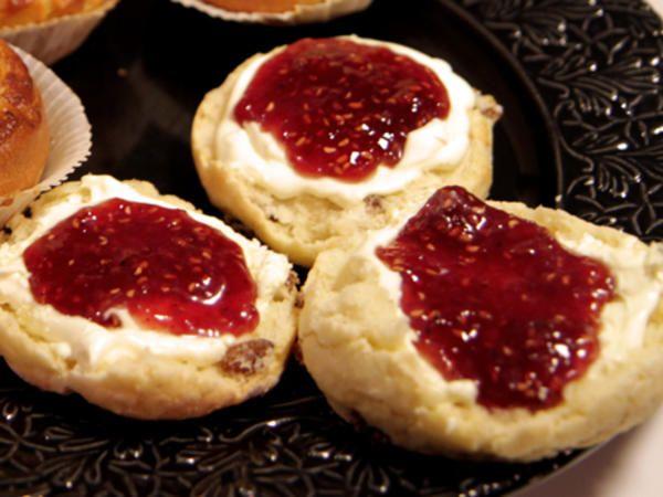 recept engelska scones