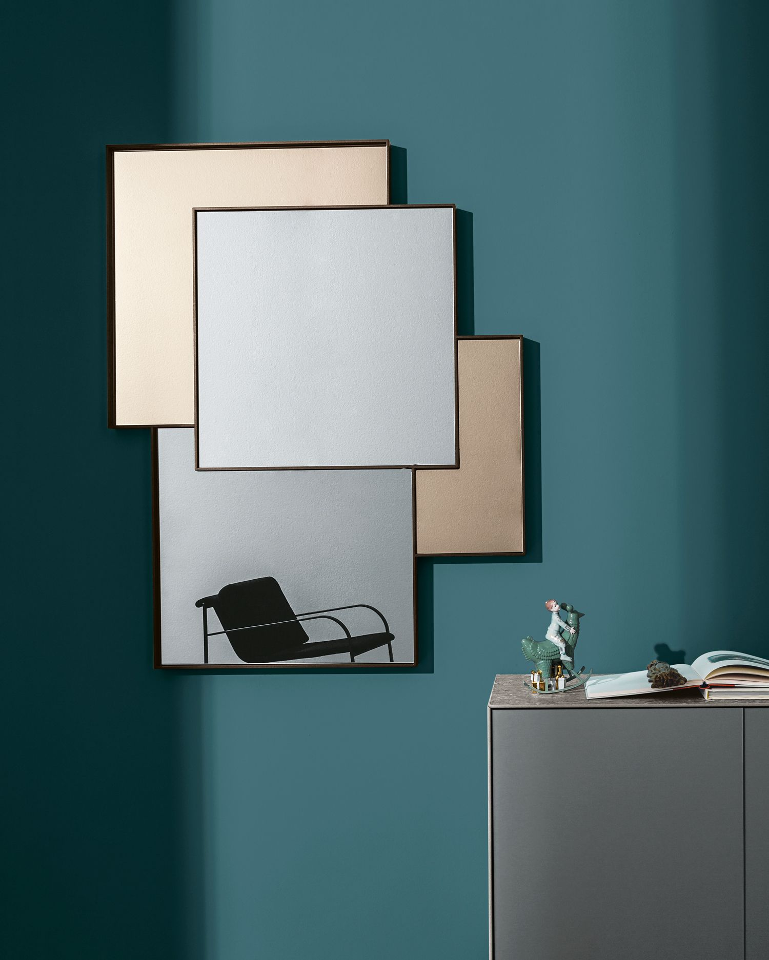 Combi makes the spaces abstract like in a painting thanks for Combi arredamenti