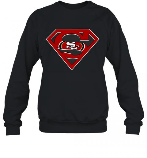 NFL San Francisco 49ers LOGO Superman Sweatshirt