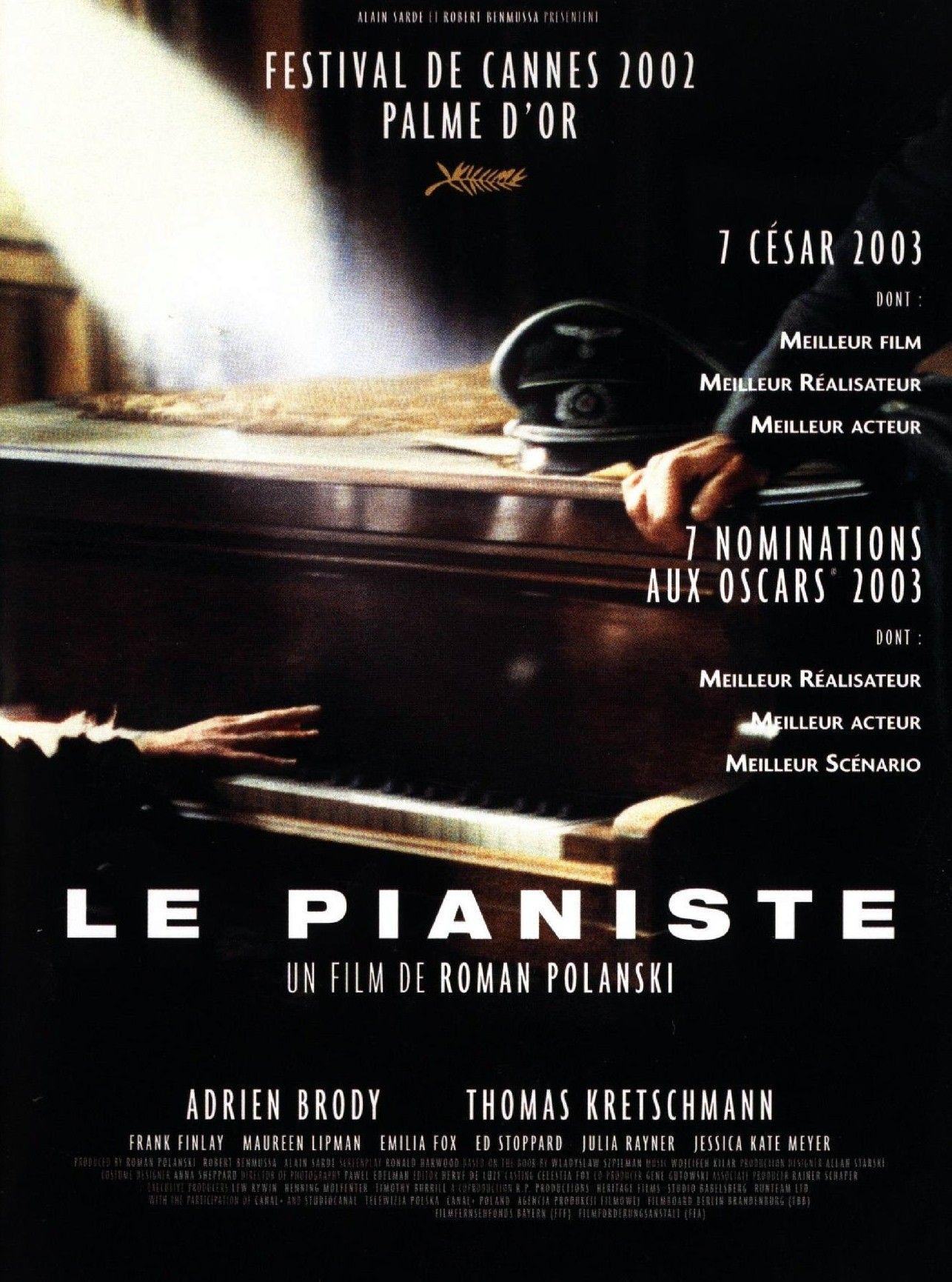 histoire des arts le pianiste film