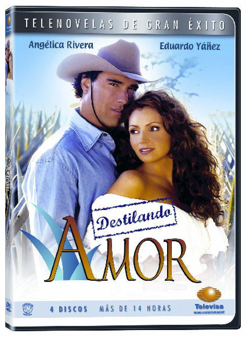 Destilando Amor Novela New Sealed 4 Dvd Boxset Spanish Telenovela 2007 Love Tv Series Telenovelas Tv Episodes