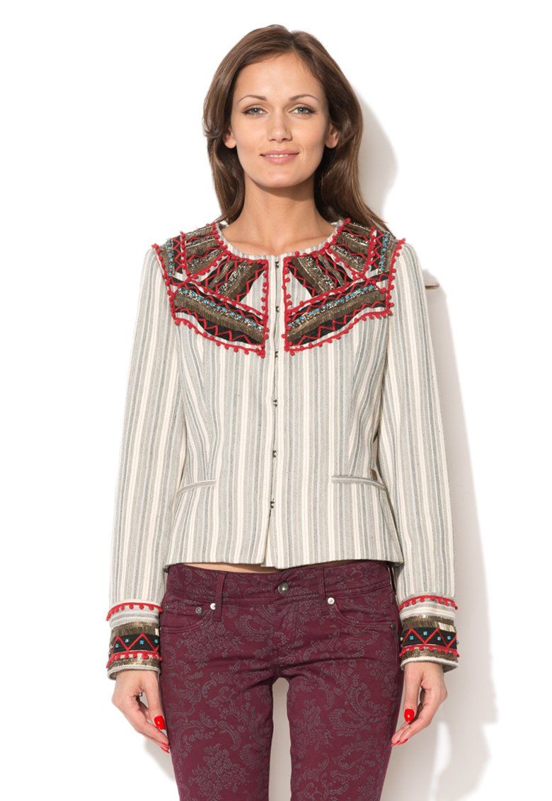 Fashion Days - ИЗБРАНИ ПРОДУКТИ ЗА ВАС - Striped Blazer
