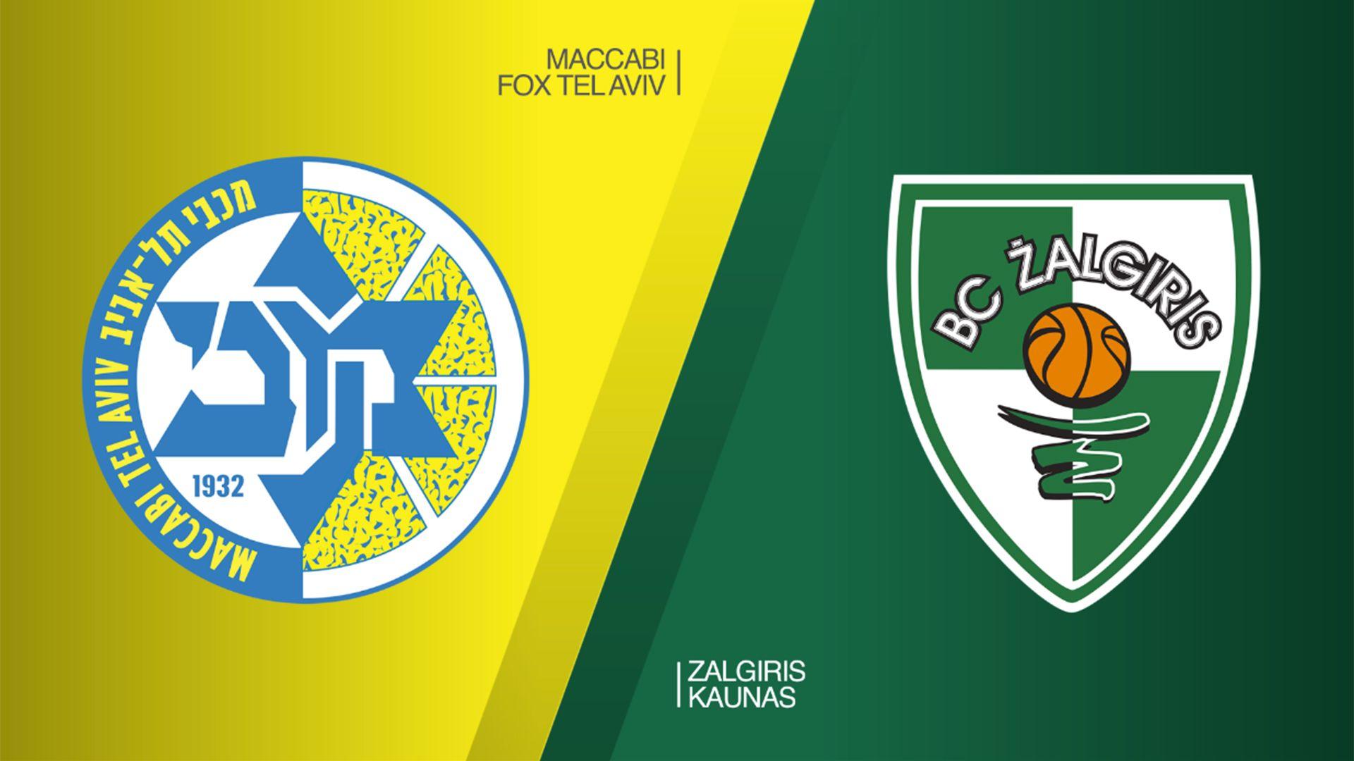 Maccabi FOX Tel Aviv Zalgiris Kaunas Highlights
