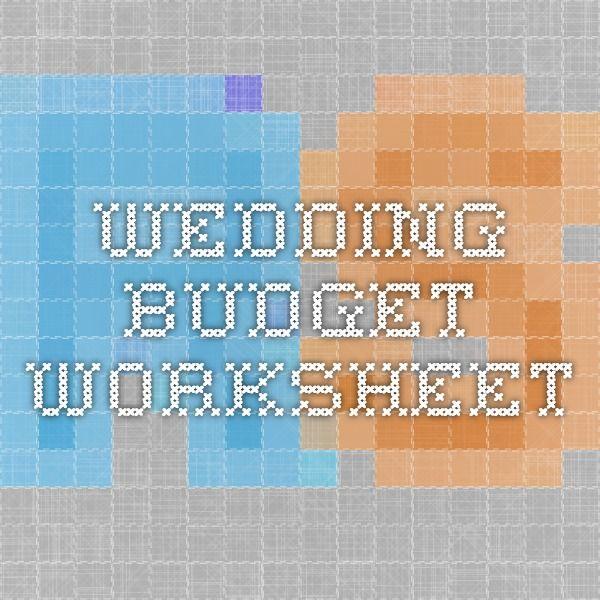 Wedding Budget Worksheet My (no longer so far off) Wedding