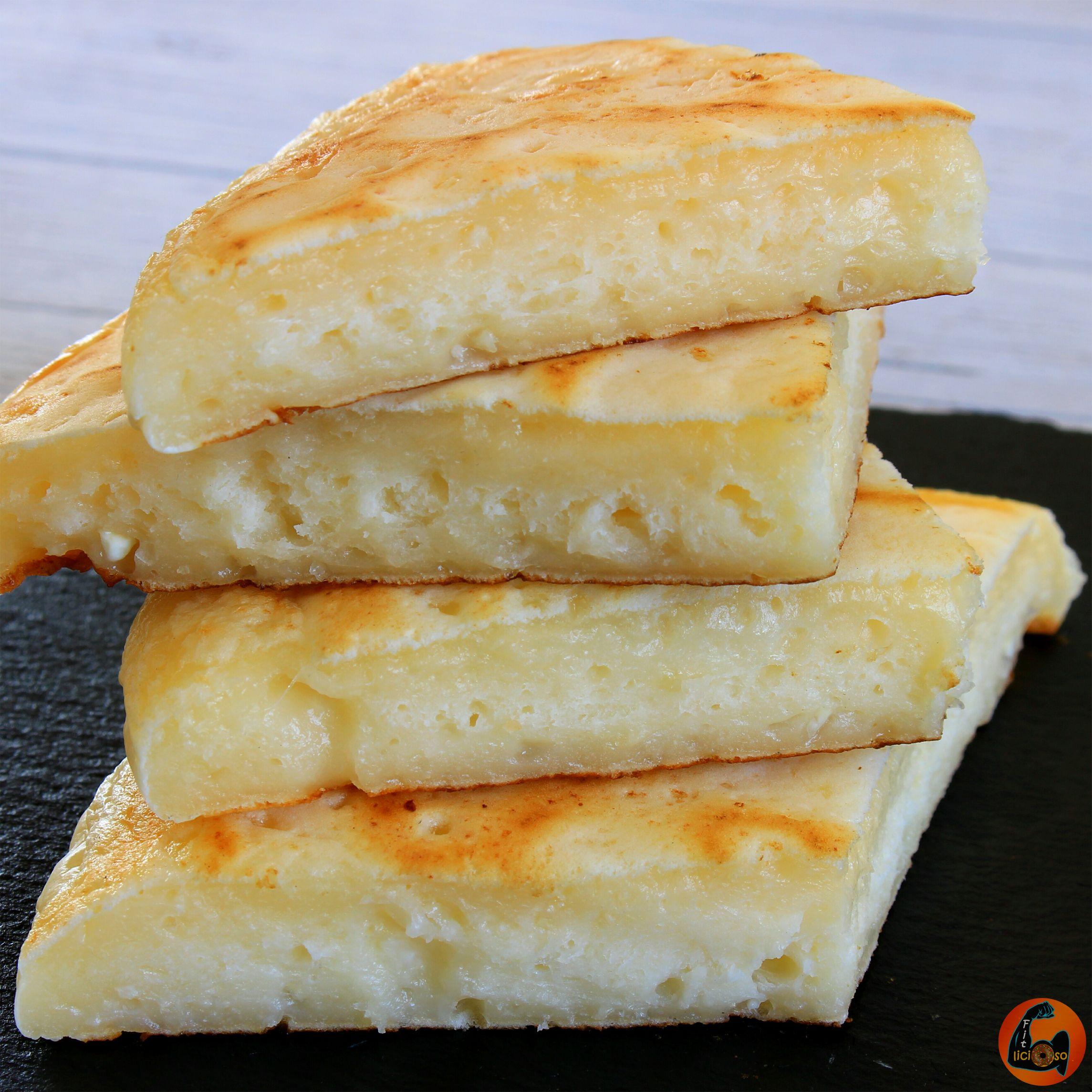 pan sin carbohidratos en sarten