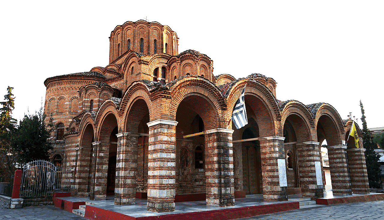 The Church of Prophet Elijah (Elias) - Thessaloniki, Greece