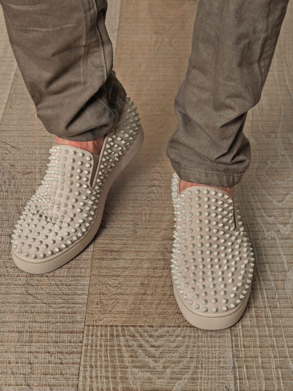 #Sapato Sapatos spike para homens. Christian Louboutin.