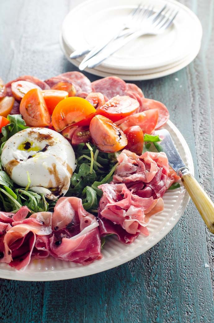 Quick Appetizer Idea: A Gorgeous Burrata Platter | Umami Girl