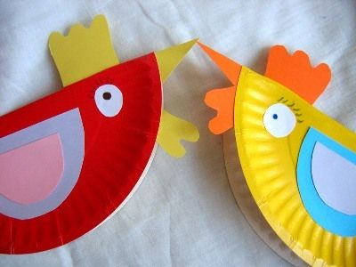 Paper Plate Hens Super Cute But You Need To Have At Least An