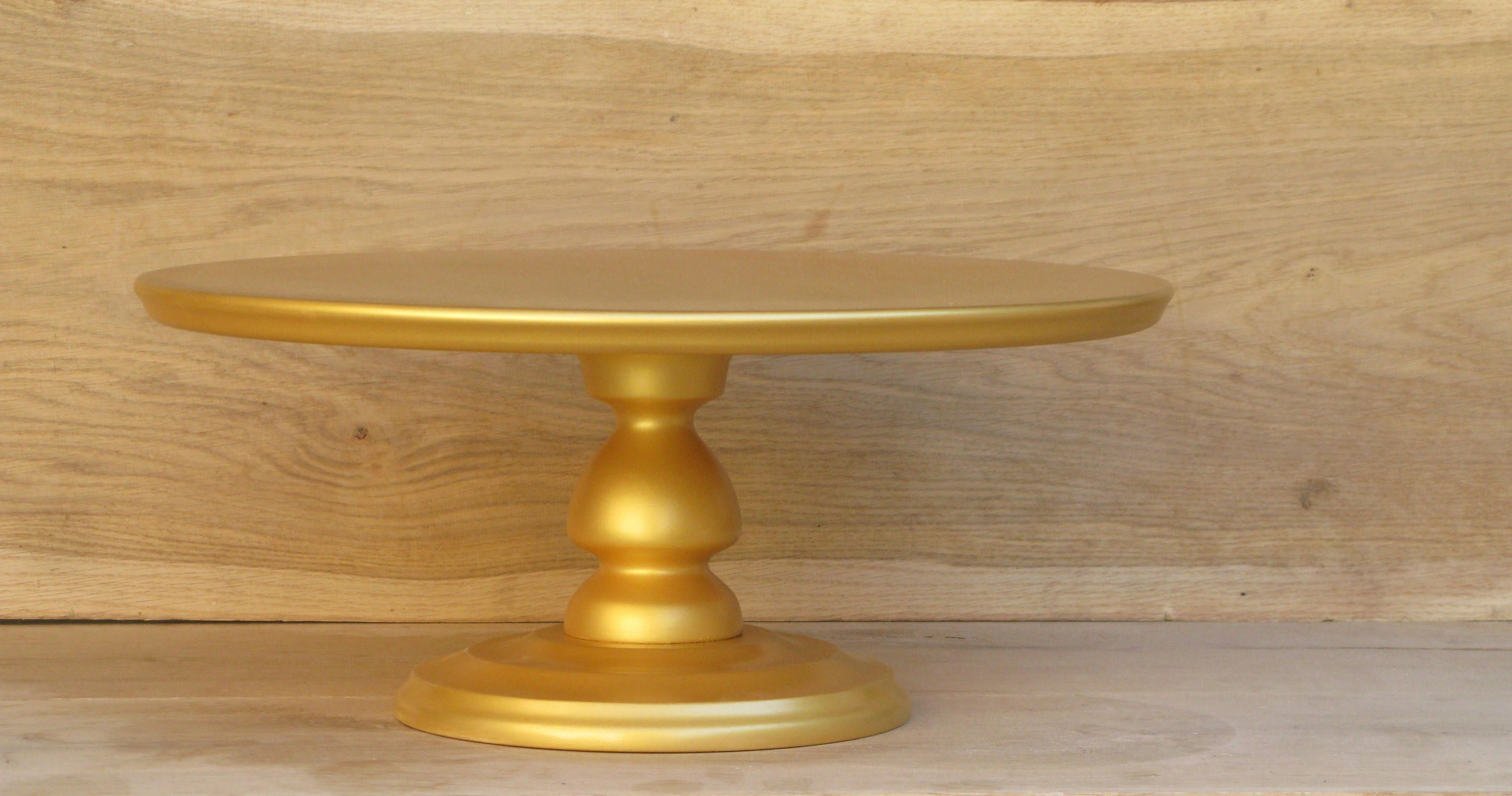 22 018161412 Inches Etsy In 2020 Wedding Cake Stand Gold Wooden Cake Stands Gold Cake Stand