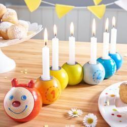 Reduzierte Geburtstagskerzenhalter