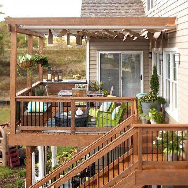 Easy on the eye charming and cozy outdoor decorating design ideas outside decks ideas home design
