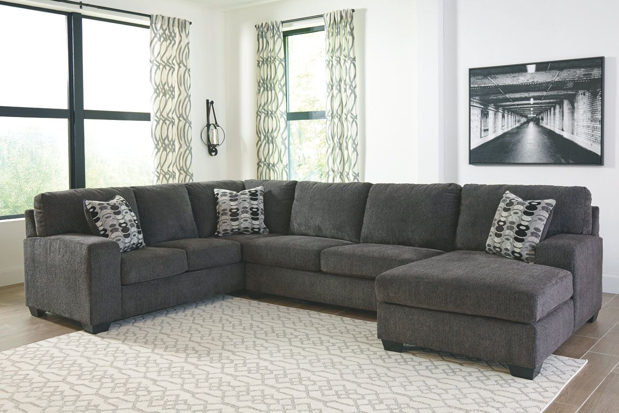 Ballinasloe 3 Piece Sectional With Chaise Ashley Furniture Homestore Living Room Sectional Living Room Sets Living Room Decor