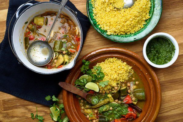 A Couscous for the (Not Quite) End of Summer - NYTimes.com