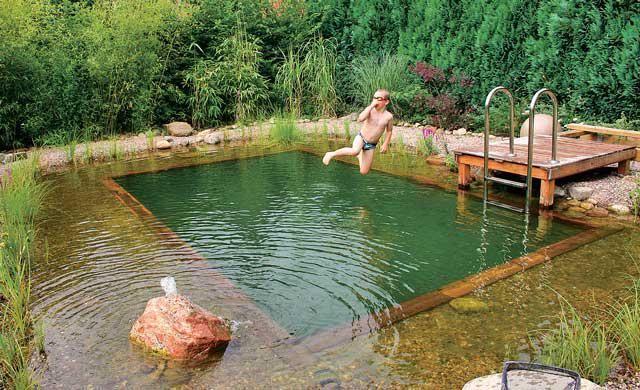 Schwimmteich anlegen garten whirlpool schwimmteich bachlauf - Whirlpool selber bauen 50 euro ...