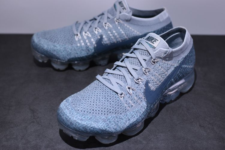 NIKE AIR VAPORMAX FLYKNIT WOLF GREY LAKE BLUE 849558 008  373de2e36