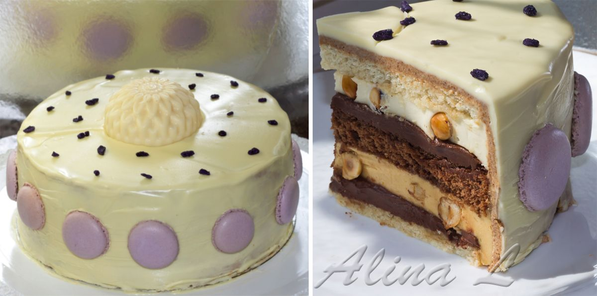 торт шоколадно карамельный рецепт с фото