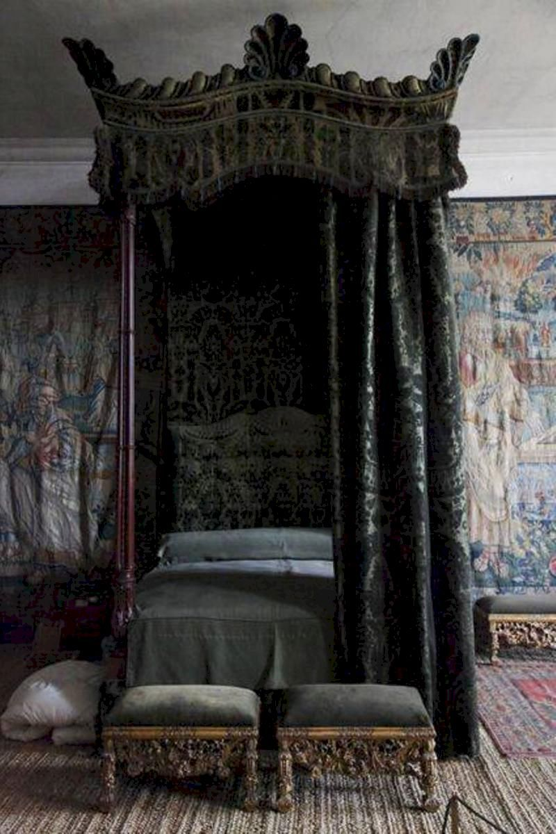 40+ Gothic black canopy bed ideas in 2021