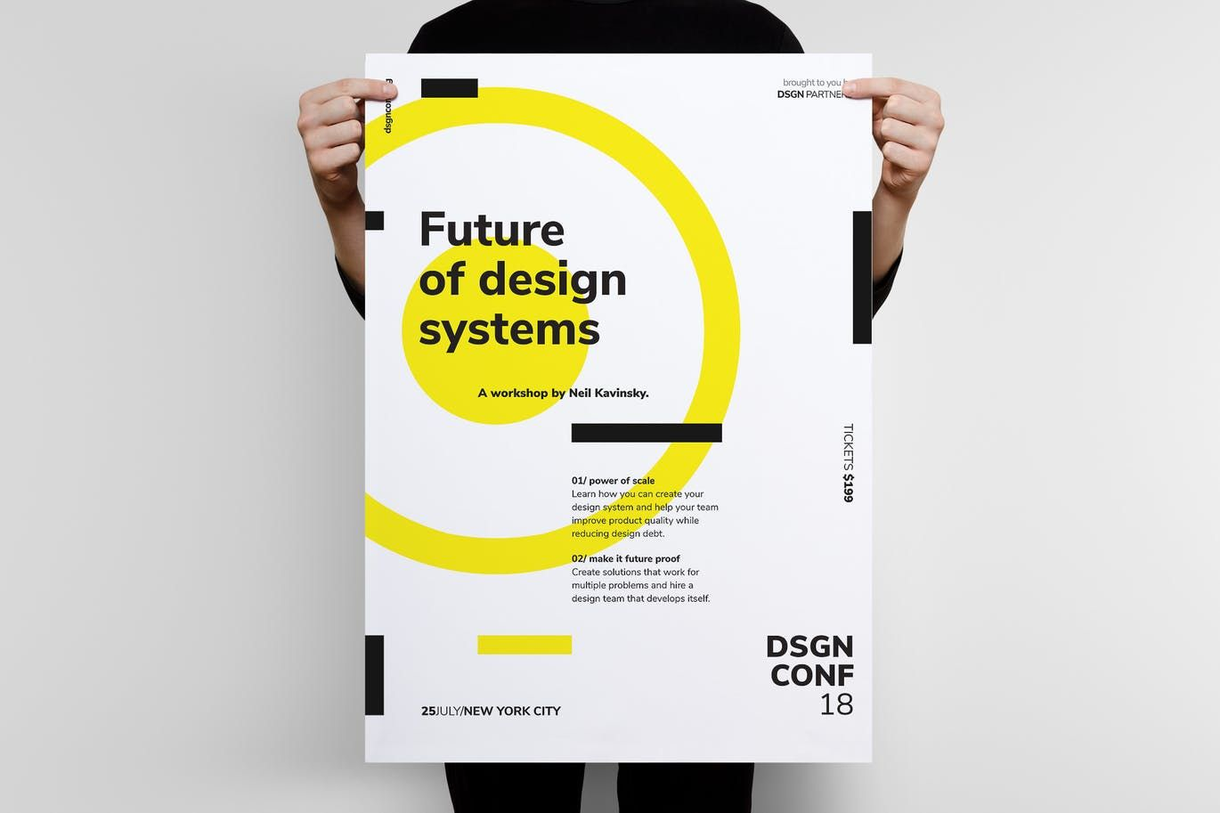 Dsgn Series 3 Poster Flyer Template By Codetoform On Envato Elements Poster Design Layout Flyer Template Fashion Poster Design