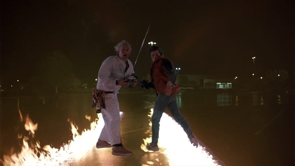 Iconic Movie Images - Back to the Future, 1985
