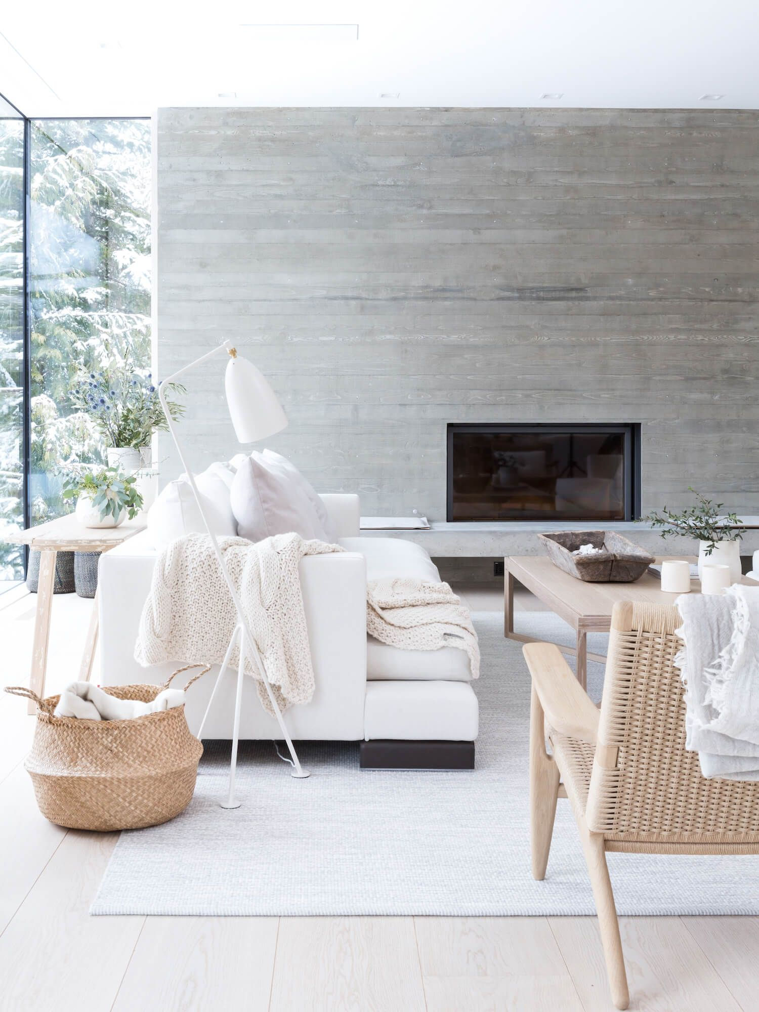 The Est Collection: Ski Chalets | Whistler, Burgers and Living rooms