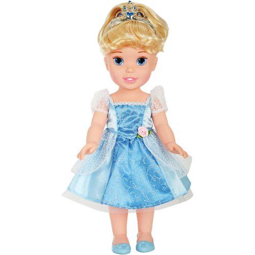 Disney Princess Sparkle Baby Cinderella Doll: Disney Princess Toddler Doll, Cinderella